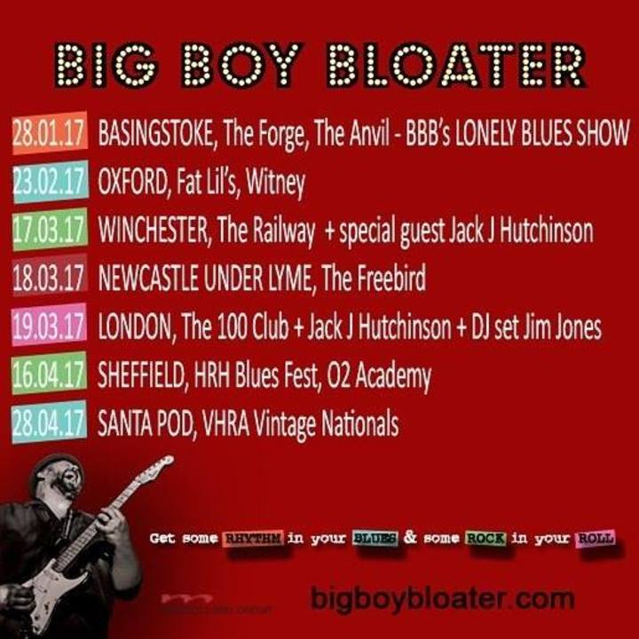 Big Boy Bloater @ The 100 Club - London, United Kingdom
