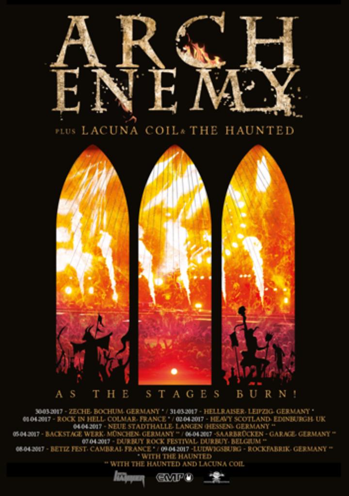 Arch Enemy @ Zeche - Bochum, Germany