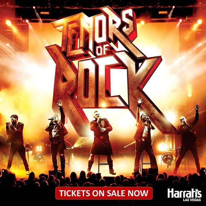 Tenors of Rock @ Harrah's Cabaret at Harrah's Las Vegas - Las Vegas, NV