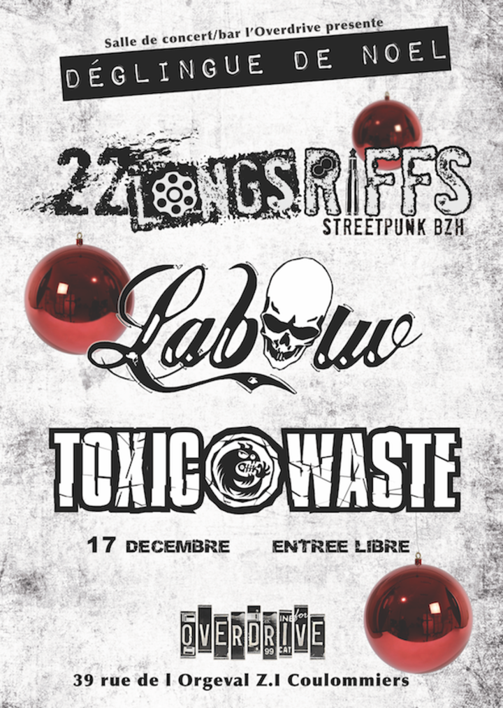 Toxic Waste @ OVERDRIVE - Coulommiers, France
