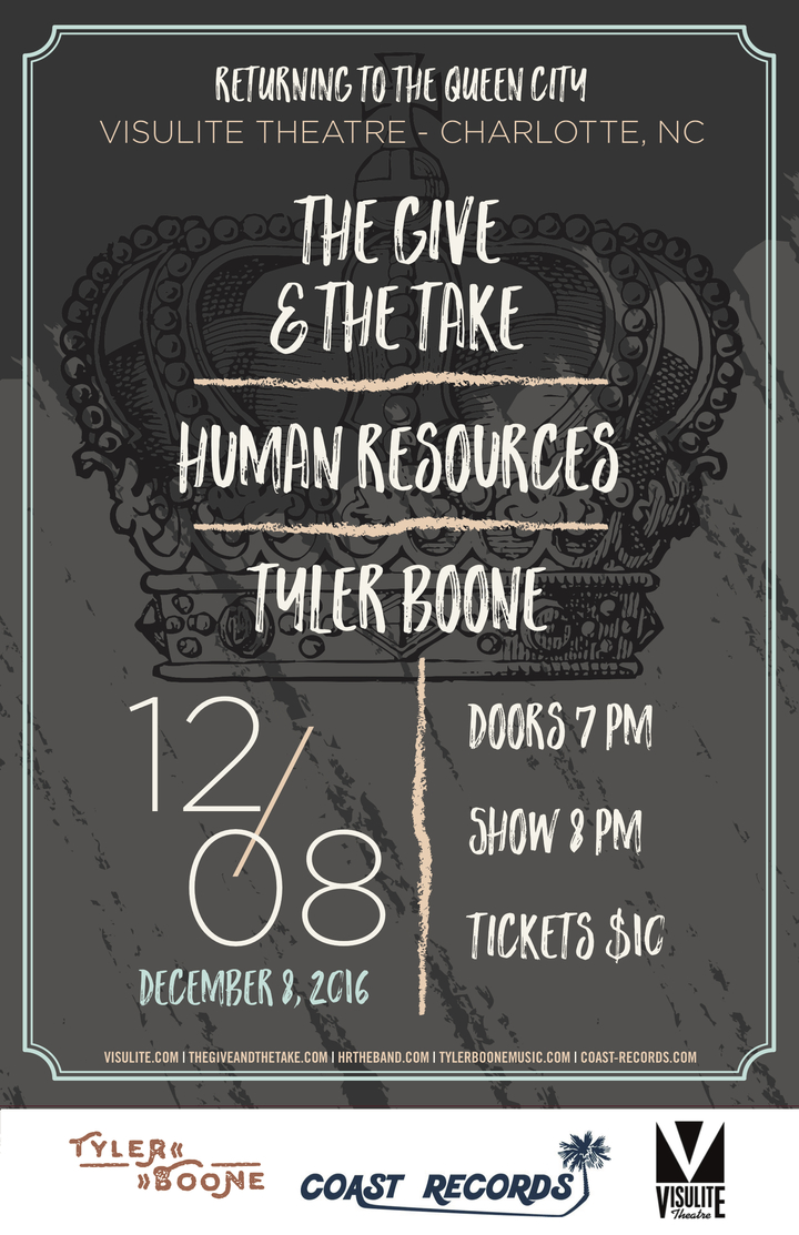 tyler boone @ The Visulite Theatre - Charlotte, NC