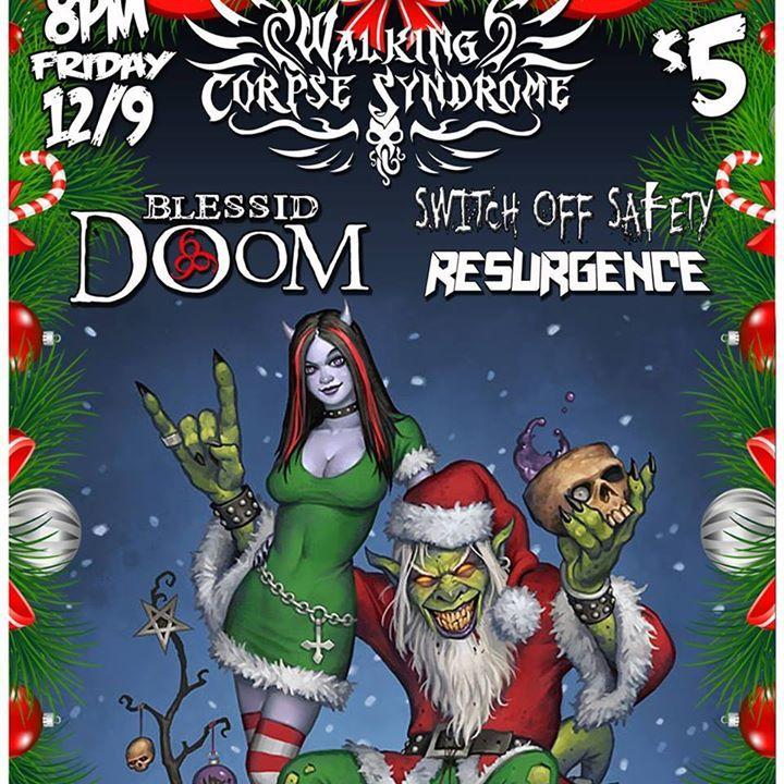 BlessidDoom Tour Dates