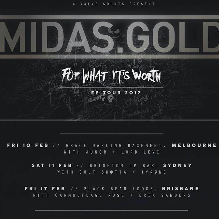 Midas.Gold Tour Dates