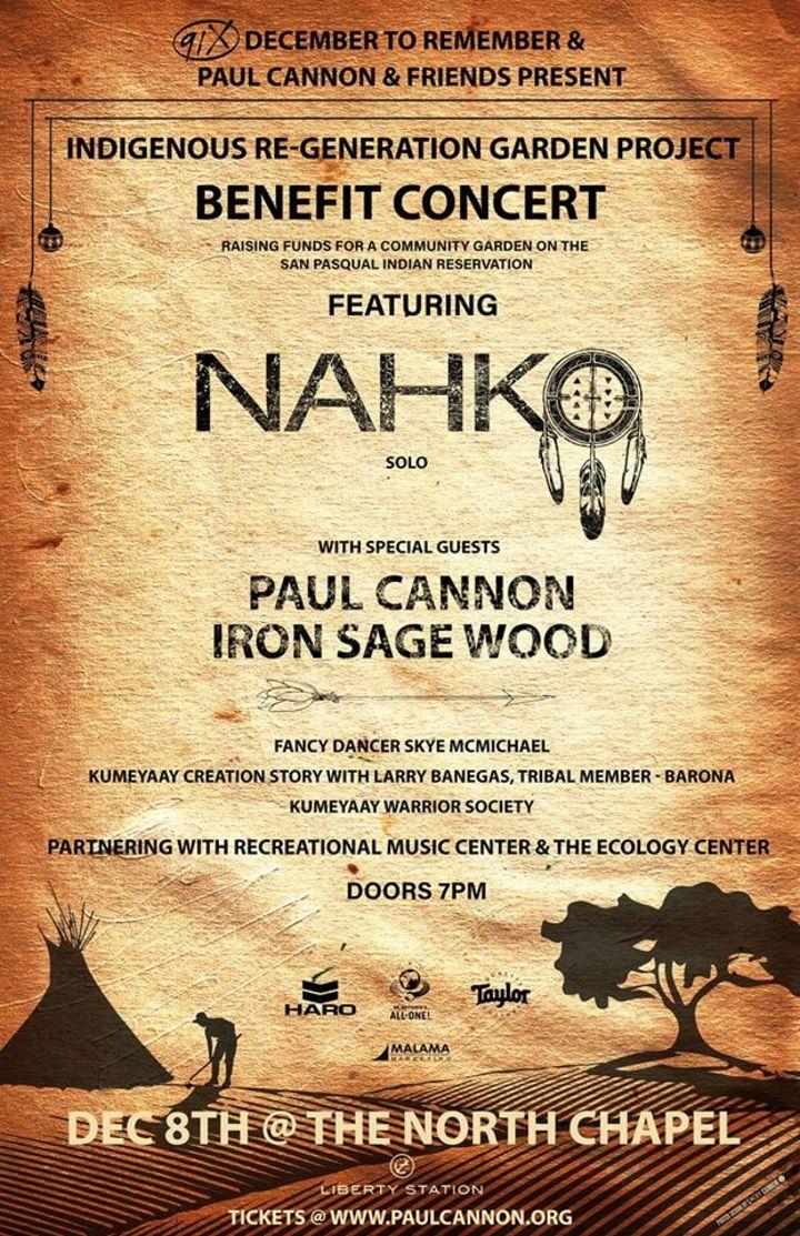 Paul Cannon IRON SAGE WOOD Tour Dates