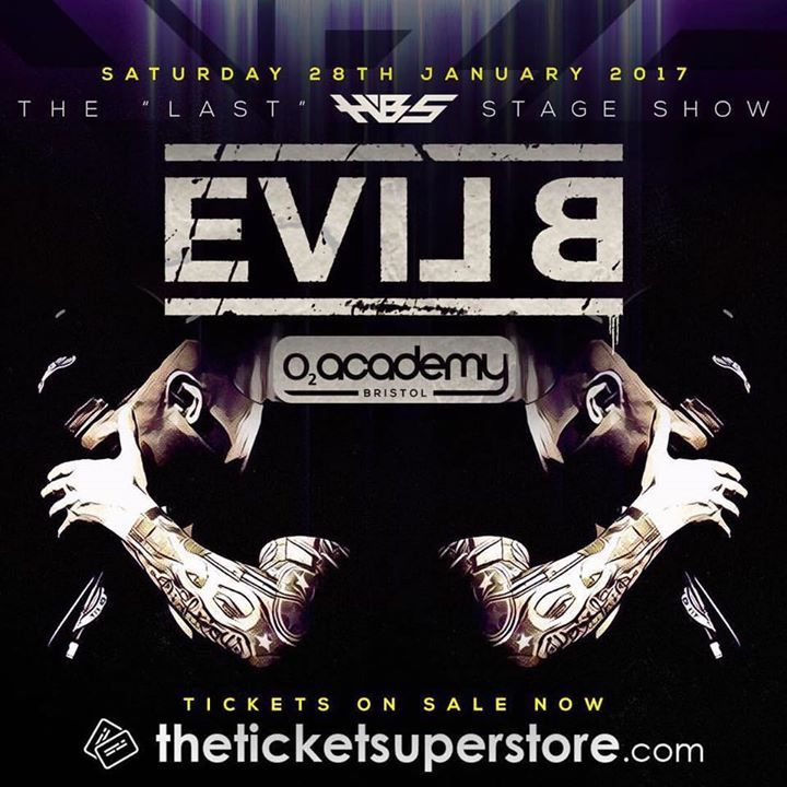 Evil B Live Street Team Tour Dates