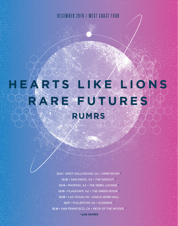 Hearts Like Lions Tour Dates