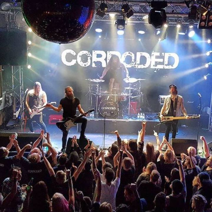 Corroded @ Palatset - Linköping, Sweden