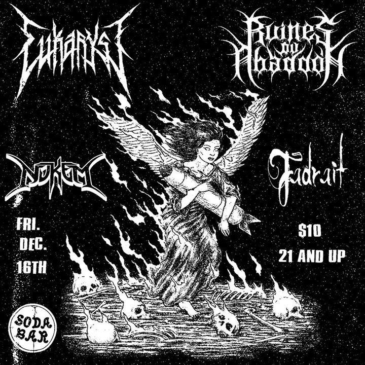 Eukaryst Tour Dates
