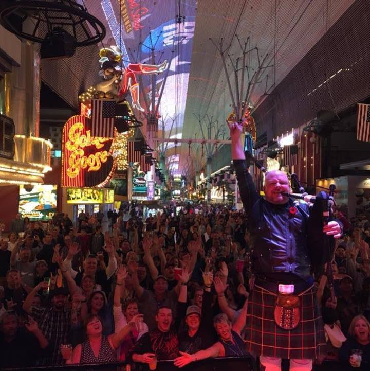 The Johnny Mccuaig Band @ Fremont Street  - Las Vegas, NV