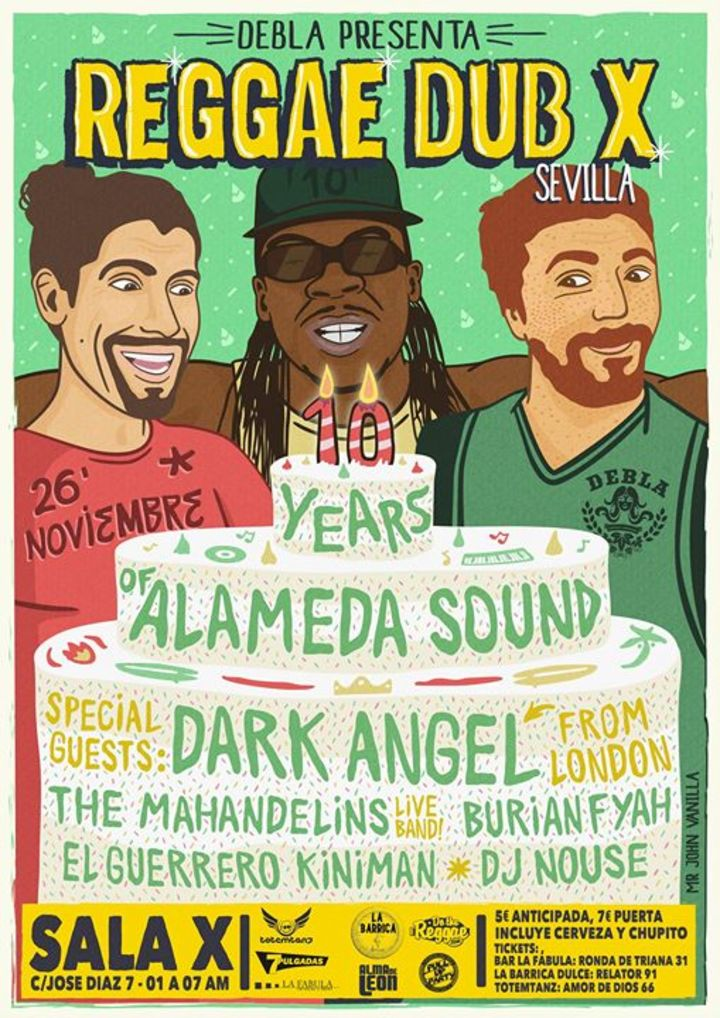 Alameda Sound Tour Dates