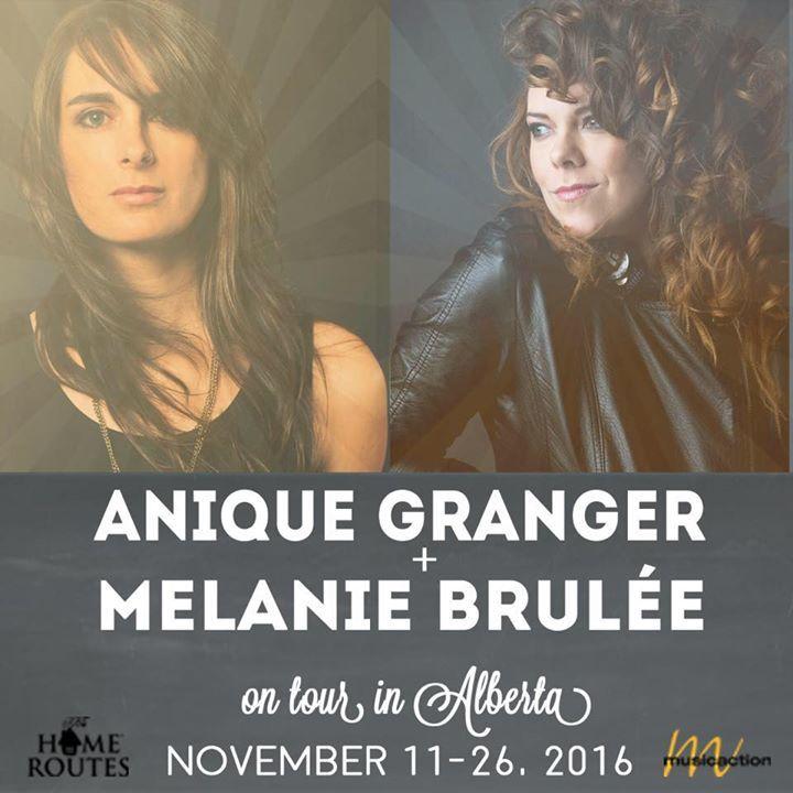 Anique Granger & Mélanie Brulée Tour Dates