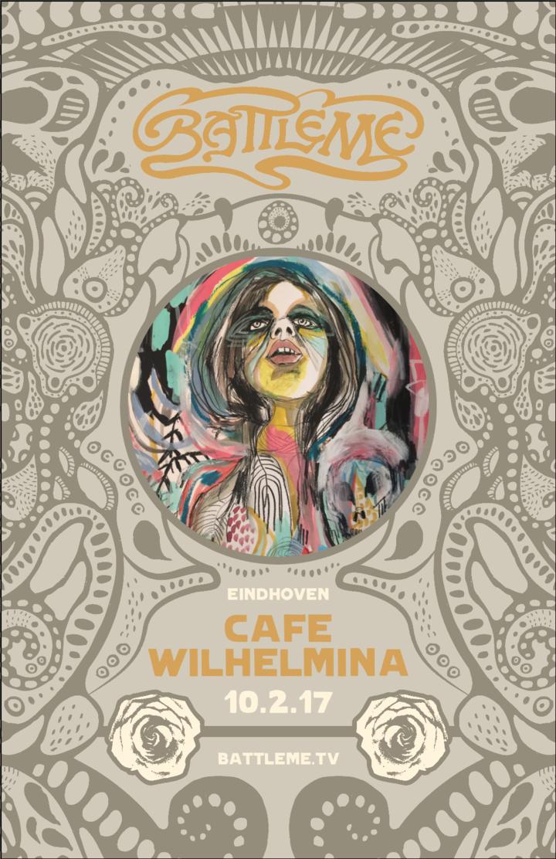 Battleme @ Cafe Wilhelmina - Eindhoven, Netherlands