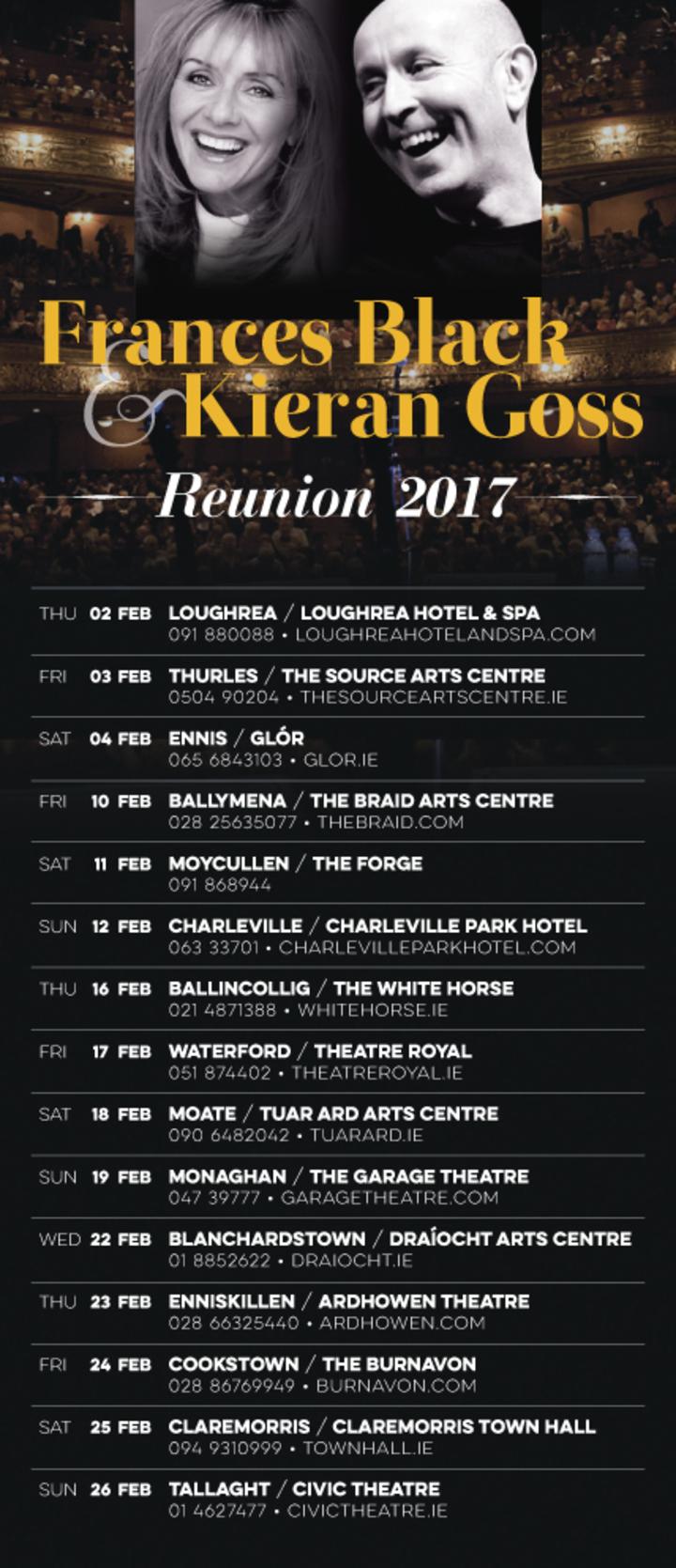 Kieran Goss @ Theatre Royal - Waterford, Ireland