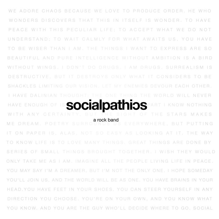 Socialpathics Tour Dates