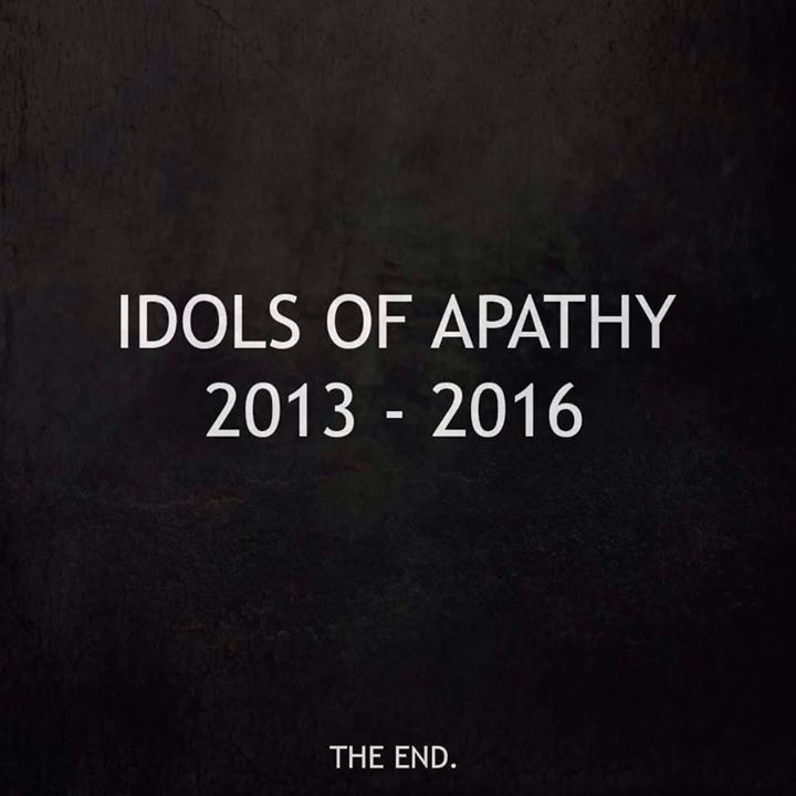 Idols Of Apathy Tour Dates