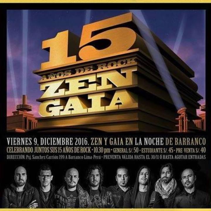 Gaia Tour Dates