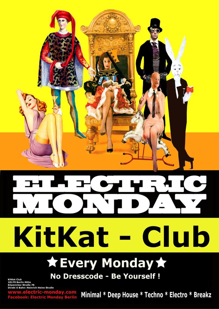Bruno Otranto (Official Artist Page) @ KitKat Club (Electric monday) - Berlin, Germany