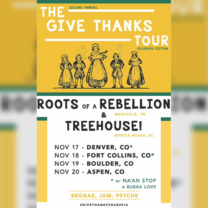 Roots Of A Rebellion @ Preservation Pub - Knoxville, TN