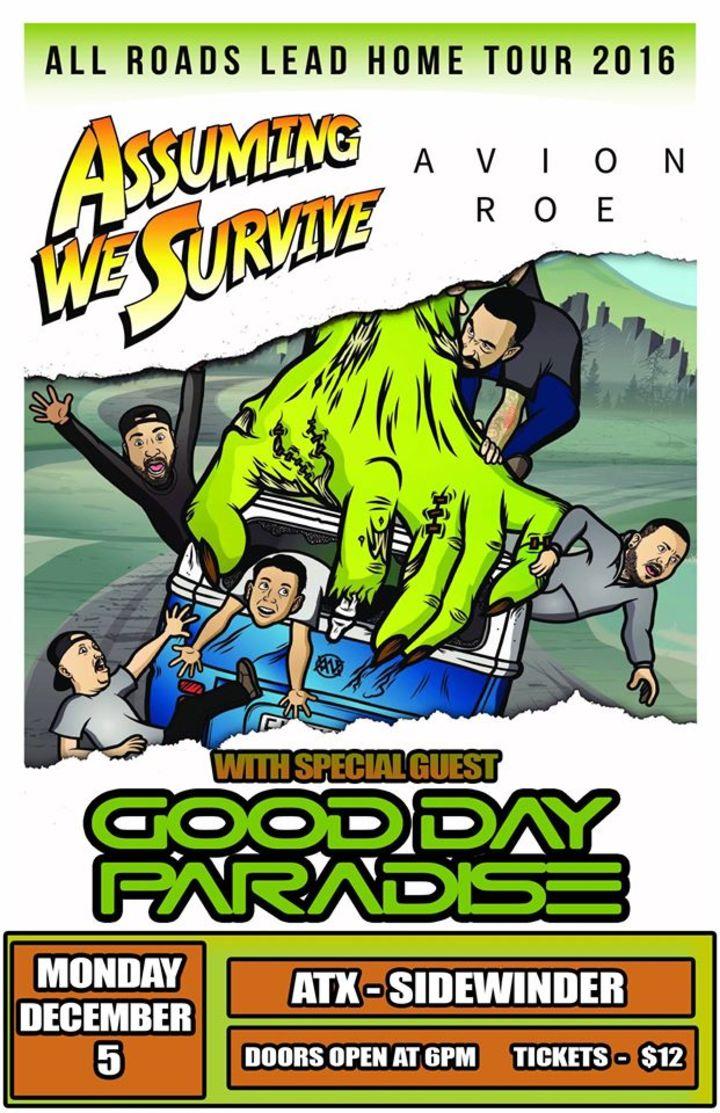 Good Day Paradise Tour Dates