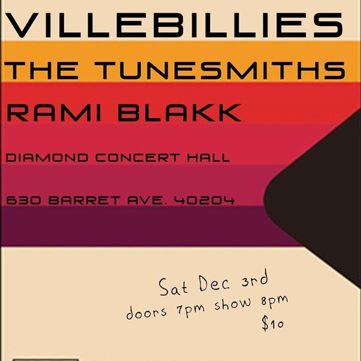 Villebillies @ Diamond Pub Concert Hall - Louisville, KY