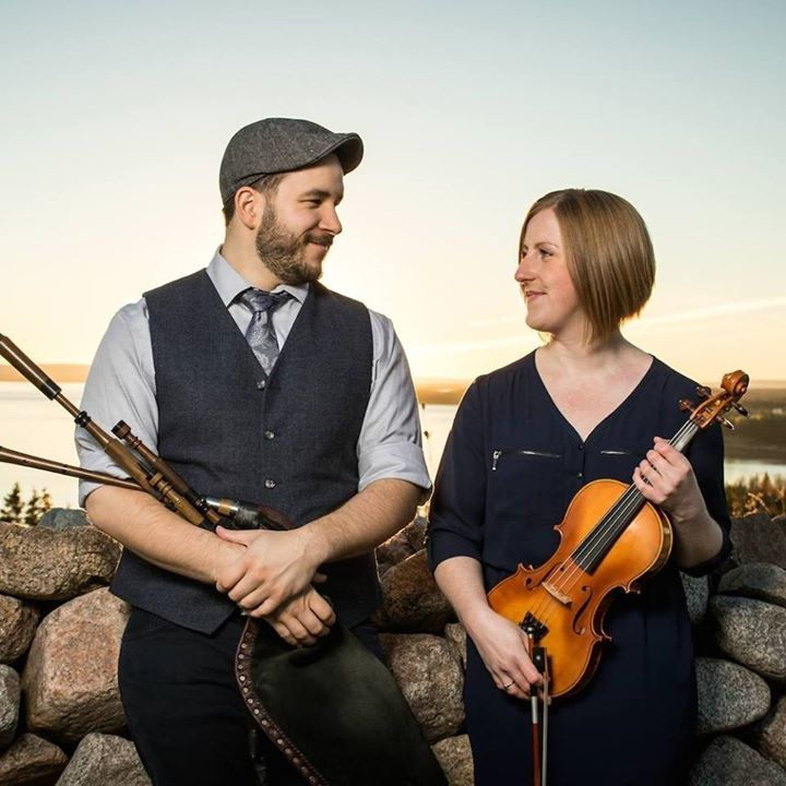 Ben Miller & Anita MacDonald @ Holland America Cruise Line - Halifax, Canada