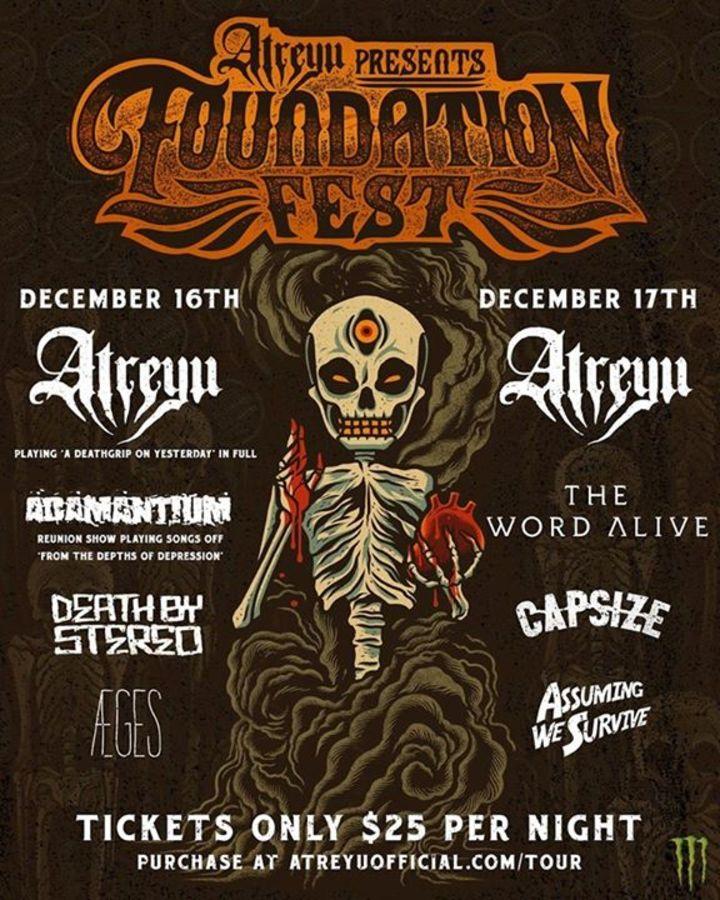 Adamantium Tour Dates