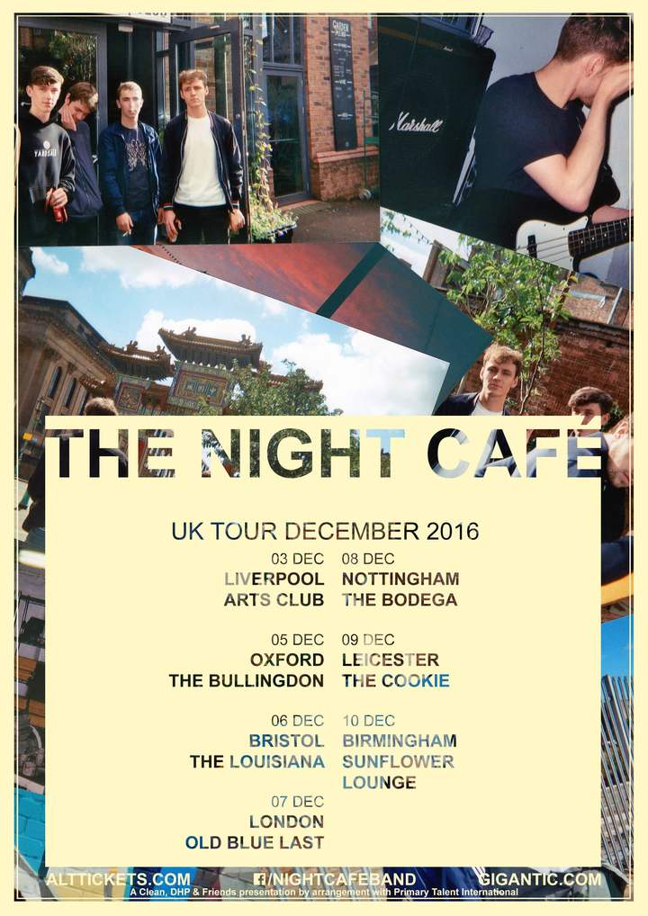 The Night Café @ Sunflower Lounge - Birmingham, United Kingdom