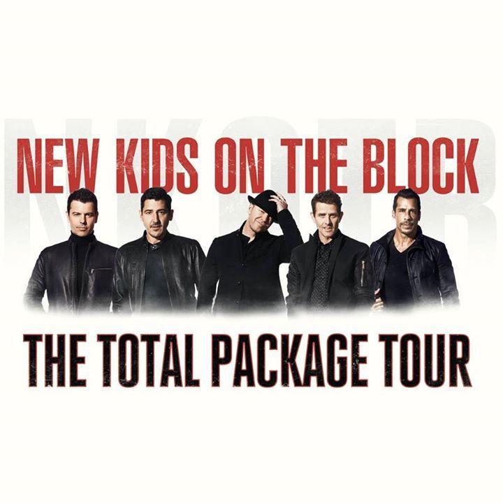 New Kids on the Block @ Sap Center - San Jose, CA