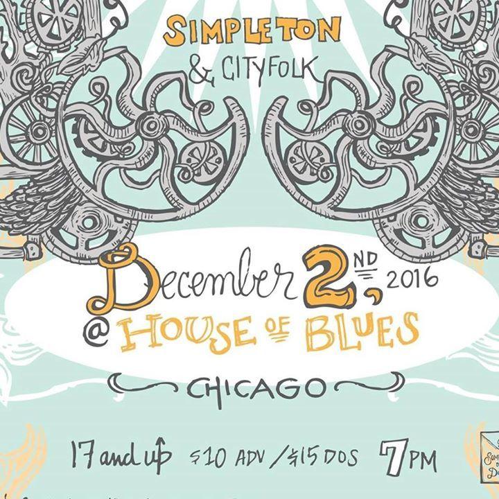 Simpleton & Cityfolk Tour Dates