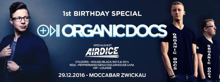 Oscar House @ Mocc Club  - Zwickau, Germany