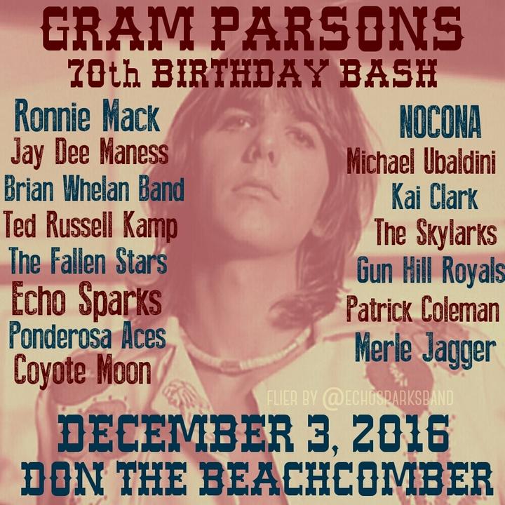 Echo Sparks @ Don The Beachcomber - Huntington Beach, CA