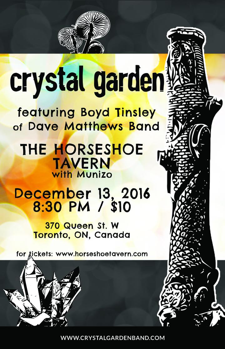 Crystal Garden @ The Horseshoe Tavern - Toronto, Canada