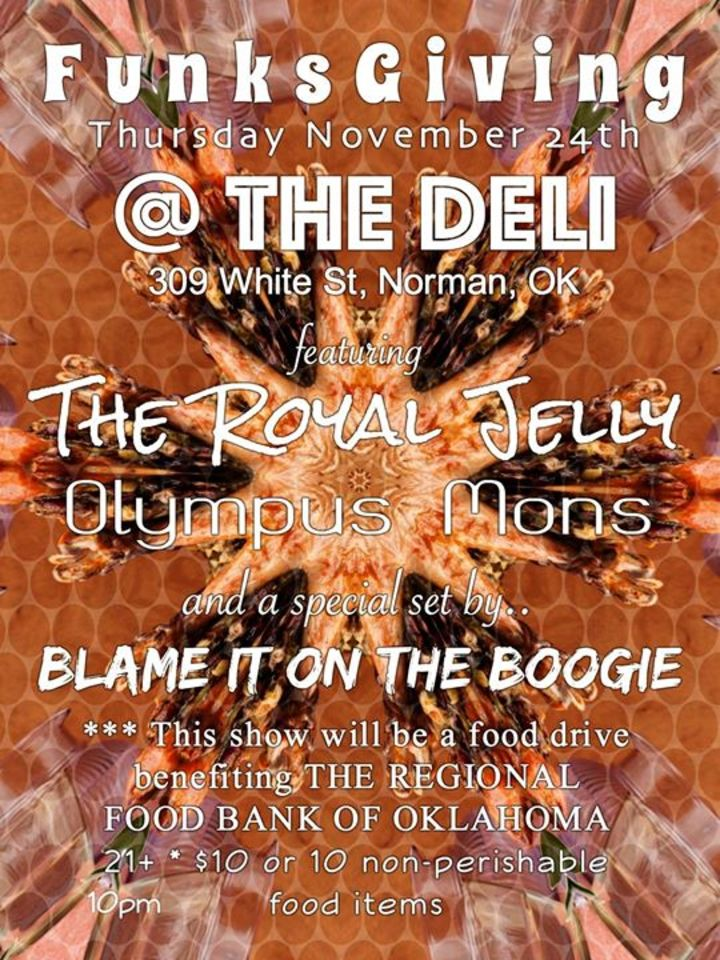 The Royal Jelly Tour Dates