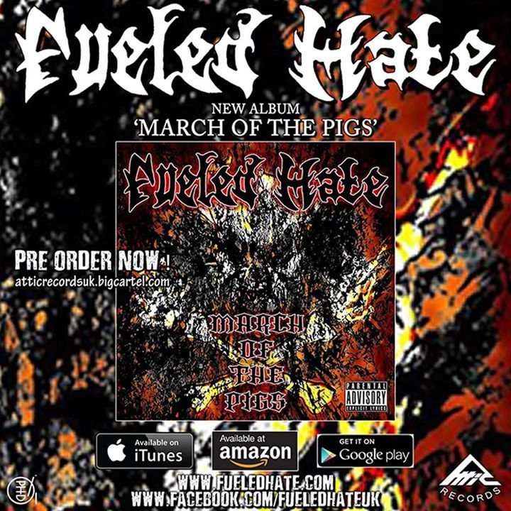 Fueled Hate Tour Dates