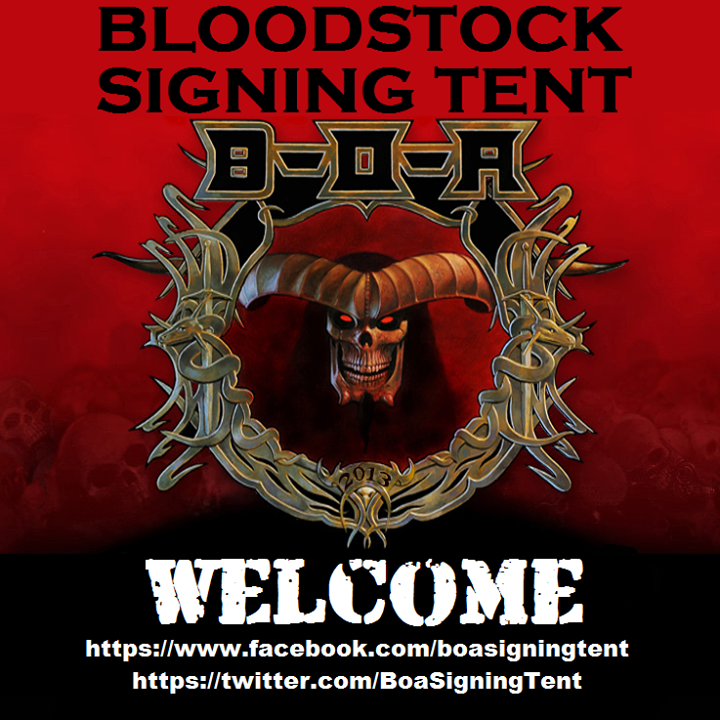 The Bloodstock Signing Tent Tour Dates