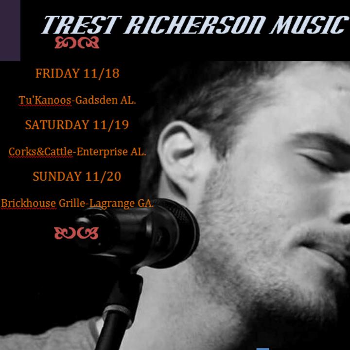 Trest Richerson Music @ Scruffy Murphy's w/ Band - Columbus, GA
