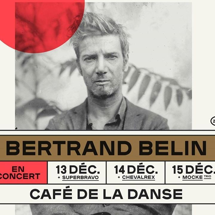 Bertrand Belin @ Centre culturel - Liffre, France