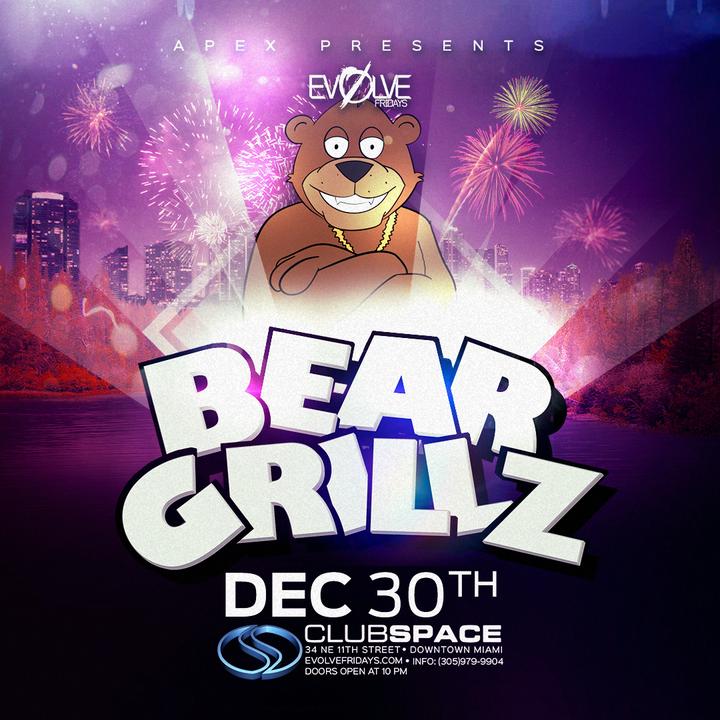 Bear Grillz @ Space - Miami, FL
