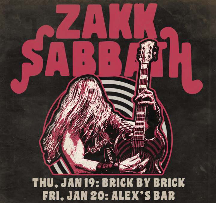 Zakk Sabbath Tour Dates