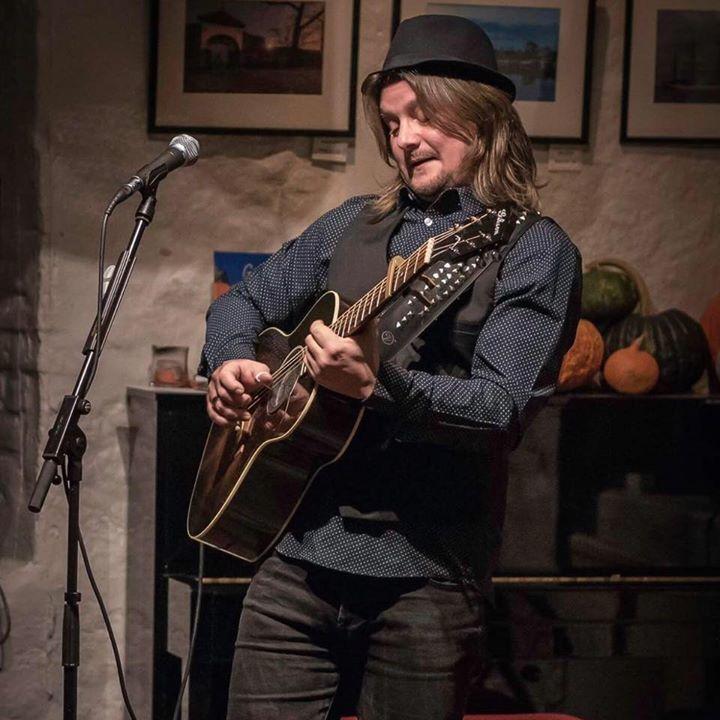 Frode Johansen @ Tomter Kunstkafe Og Bar - Tomter, Norway