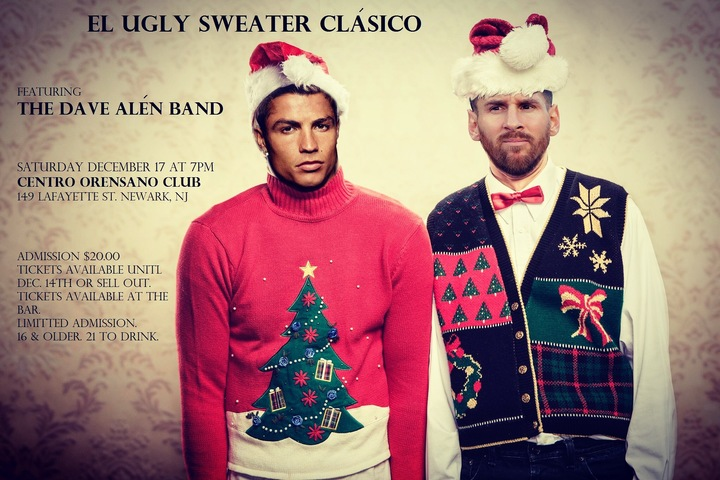 The Dave Alen Band @ Club Orensano's Ugly Sweater Party  - Newark, NJ