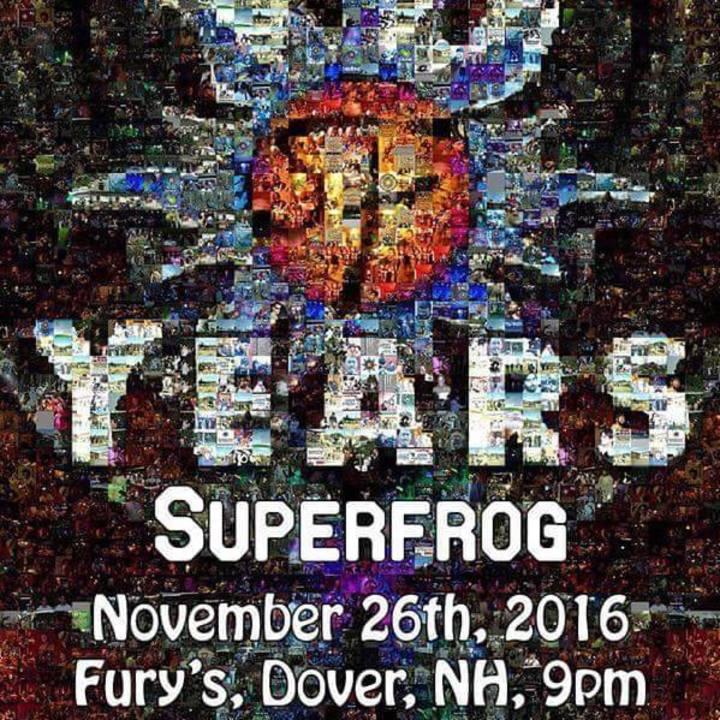 Superfrog Tour Dates