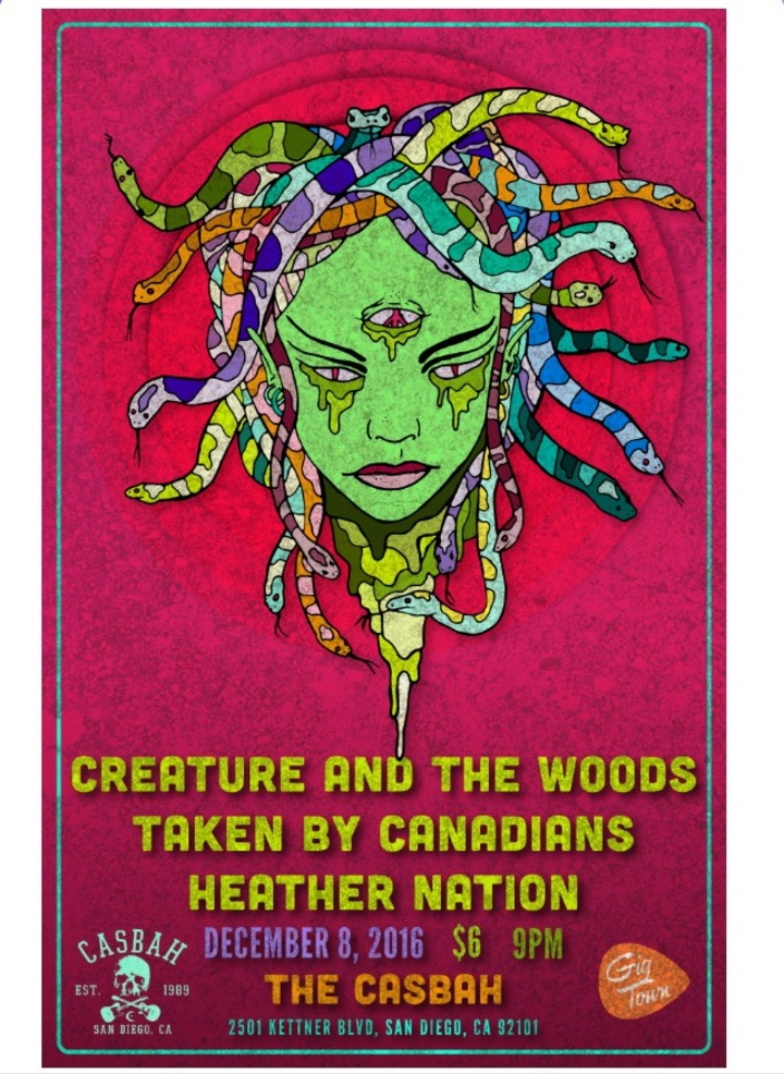 Creature and the Woods Tour Dates