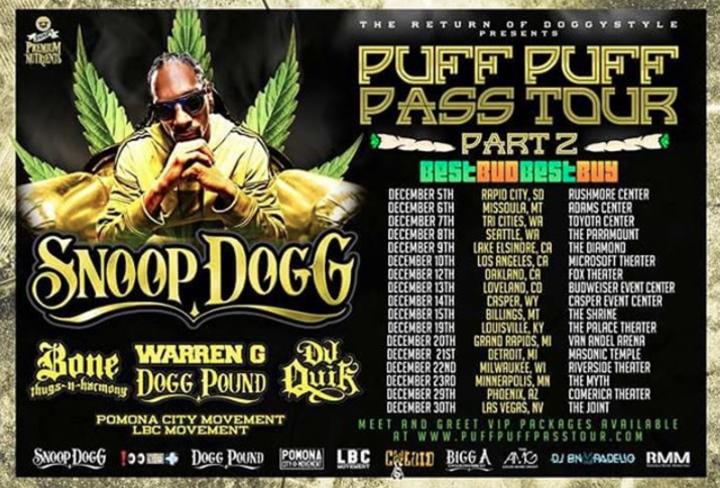 Snoop Dogg @ Masonic Temple - Detroit, MI