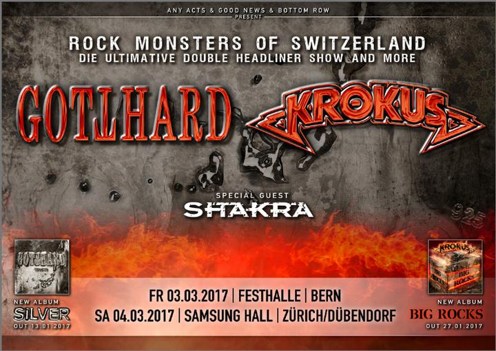 KROKUSonline @ Festhalle - Bern, Switzerland