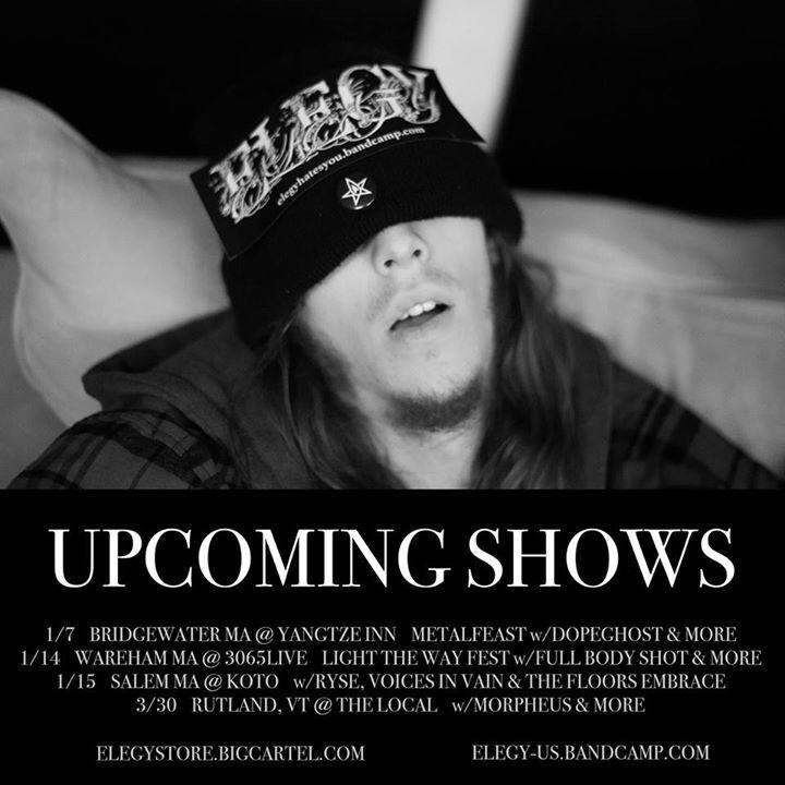 Elegy Tour Dates