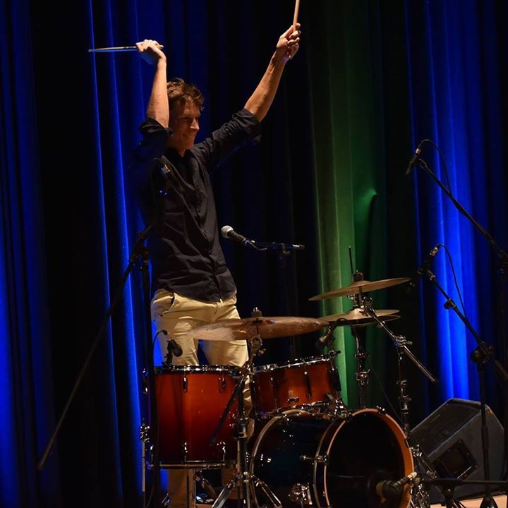 Anselmo Luisi - drummer&percussionist @ Irische tage  - Jena, Germany
