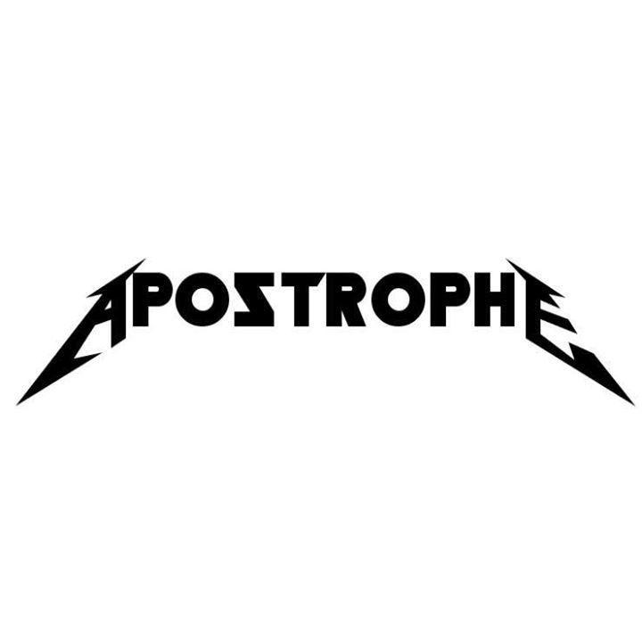 Apostrophe Tour Dates
