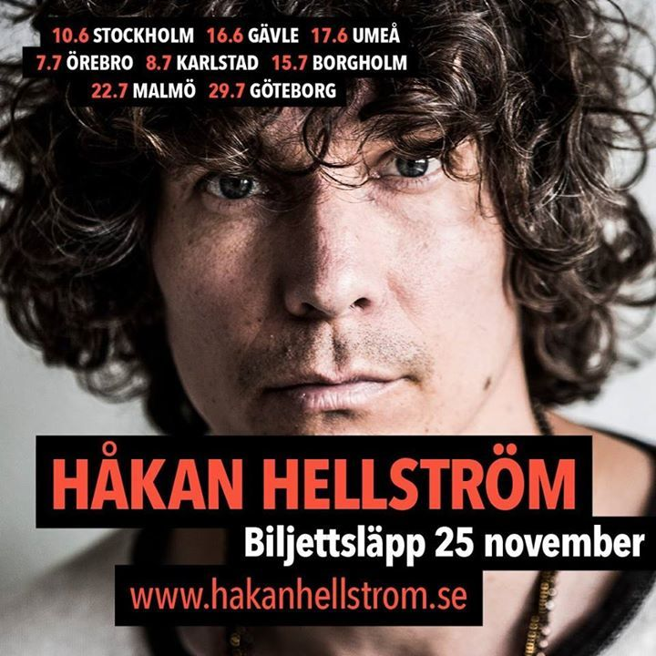 Hakan Hellstrom Tour Dates