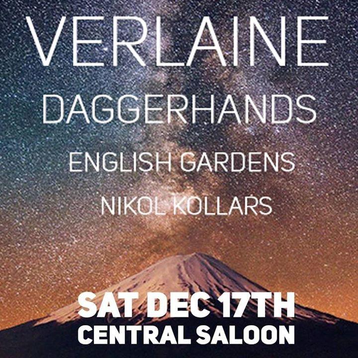 Verlaine Tour Dates